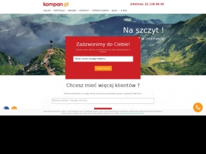 Kompan - content marketing w Internecie